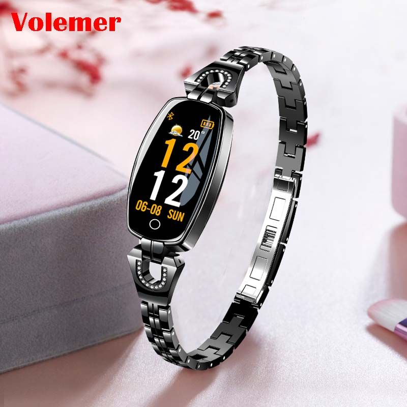 Volemer H8 Smart Bracelet Women Heart Rate Sleep Monitor Smart Band Blood Pressure Smart Watch For IOS Android Smart wristbands
