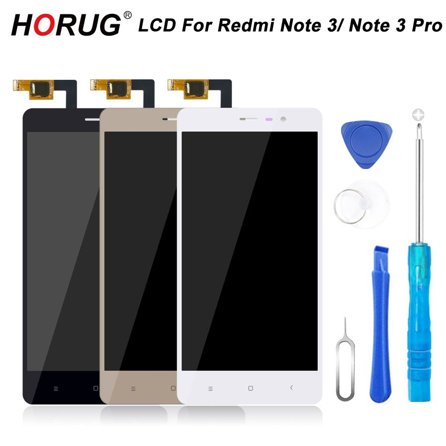 HORUG 100% AAAA Original LCD For Xiaomi Redmi Note 3 Pro Screen Replacement Display Touch Note 3 Pro Screen Kits Screen LCDS