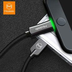 MCDODO Kabel USB untuk iPhone X 8 7 6 6 S PLUS 5 Auto Putuskan Cepat Charger Data Usb Cepat kabel Pengisian untuk iPhone X Max XR X
