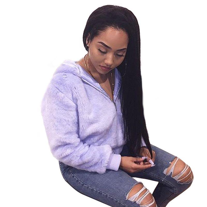 250% плотность Синтетические волосы на кружеве человеческих волос парики для Для женщин природа черный шелковистая прямая бразильские круже...