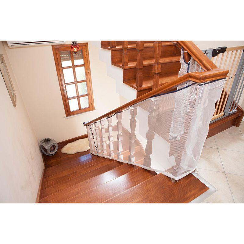 Niño protección escalera valla escalera de seguridad red balcón valla de seguridad del bebé escalera Net 80*300 cm libre libre