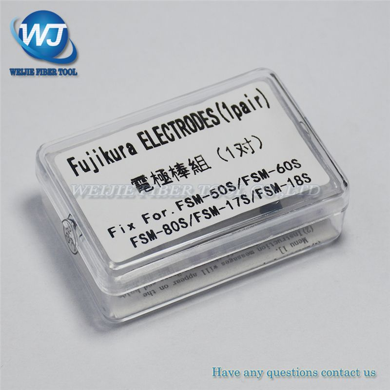 Free shipping Electrodes FUJIKURA ELCT2-20A FSM-50S FSM-60S FSM-80S FSM-70S Fusion Splicer Electrodes