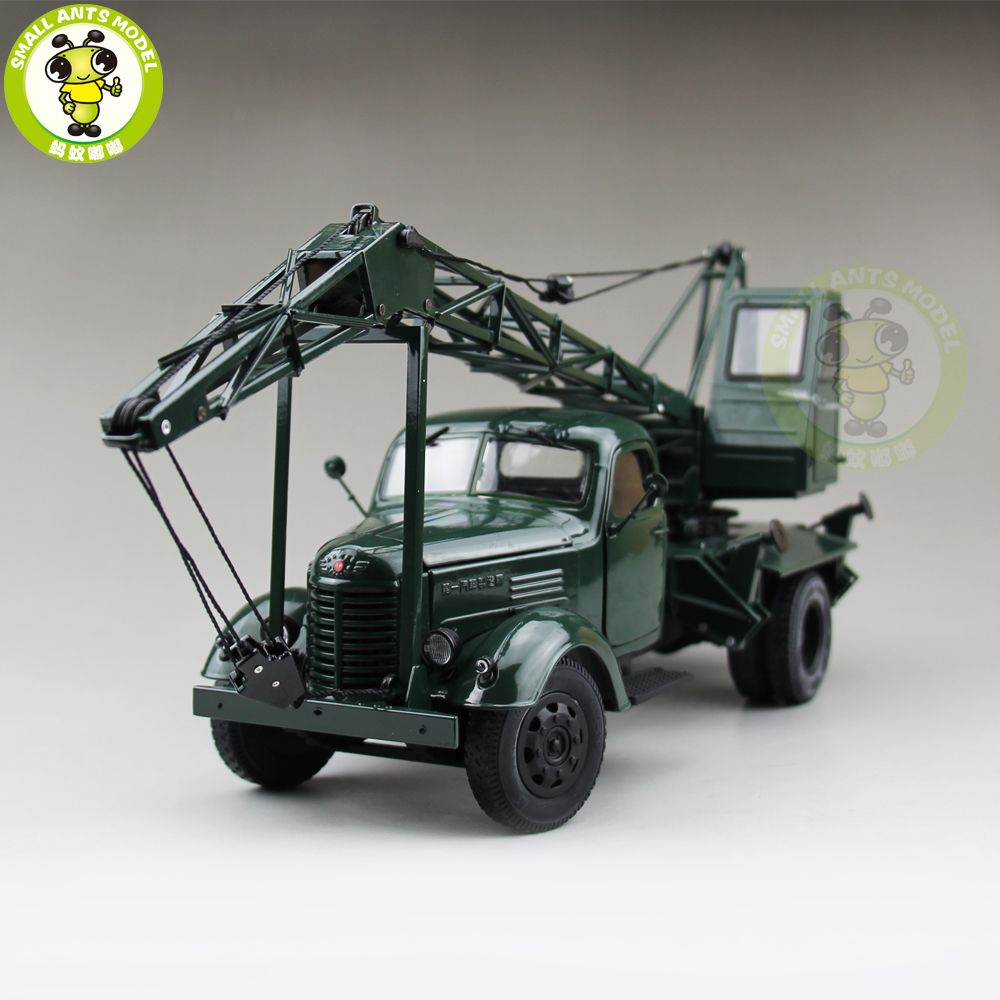 1/24 China Jiefang FAW Crane Truck Engineering vehicle Diecast Model Car Truck Gift Collection Hobby High Quality