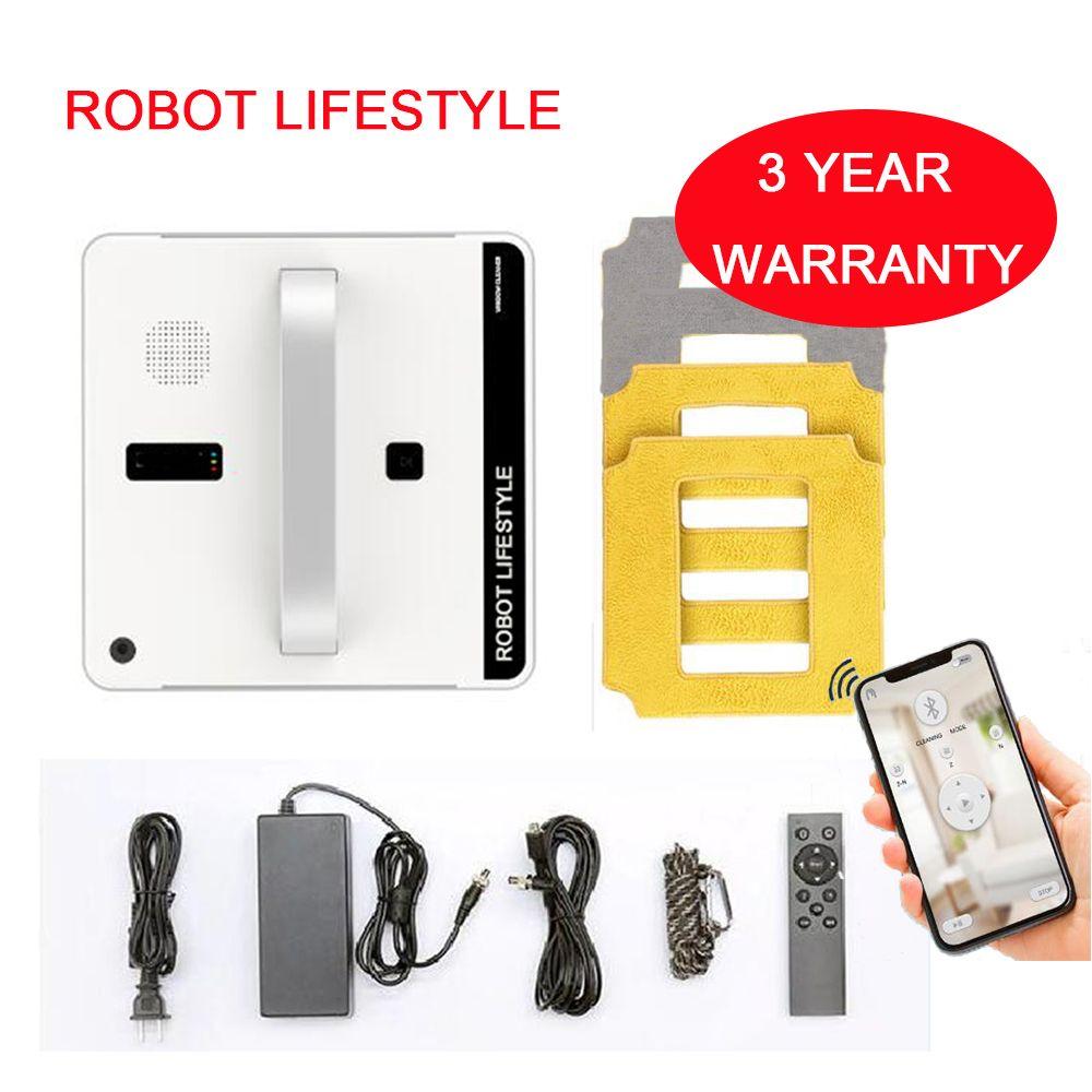 Win660 Automatische Fenster Reinigung Roboter, intelligente Washer, Fernbedienung, Anti herbst UPS Algorithmus Glas vakuum Reiniger Werkzeug
