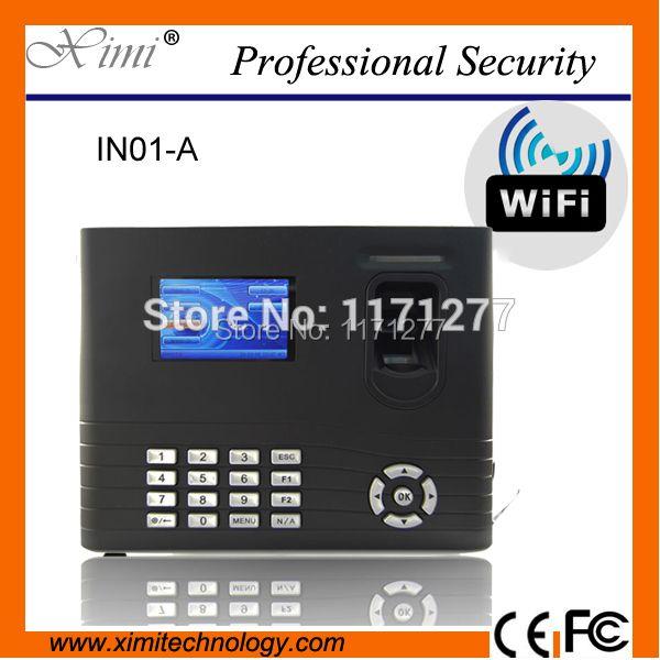 WIFI netzwerk linux-system errichtet in der batterie 125 KHz kartenlesegerät fingerprint zeiterfassung zutrittskontrolle