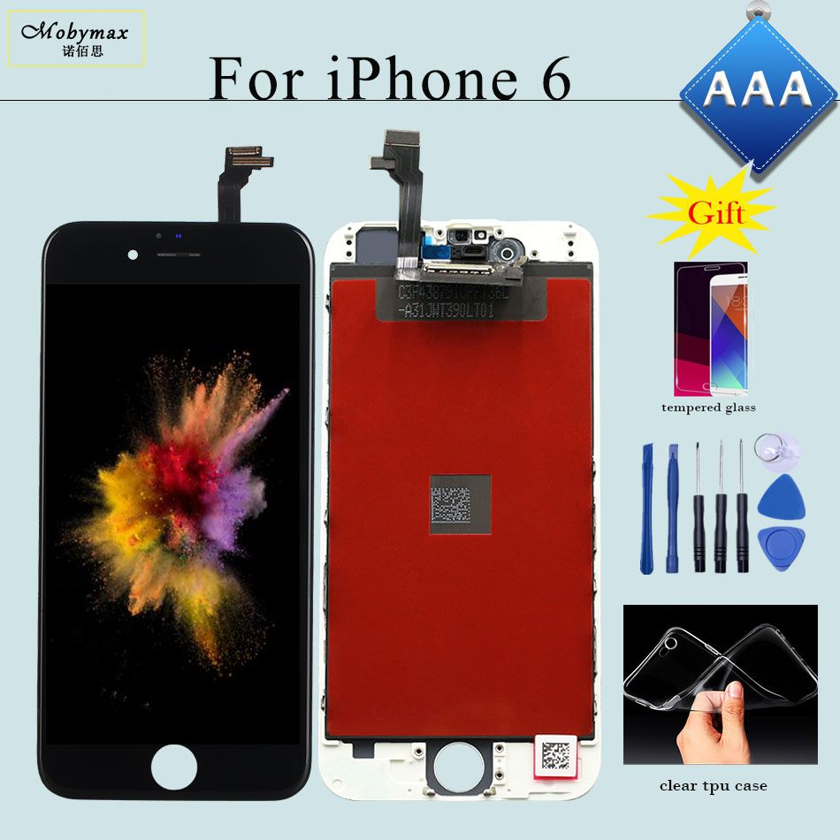 for iPhone 6 LCD Screen and Digitizer Repair Replacement for iPhone 7 Display 4s Assembly No Dead Pixel LCD 5S Screen 6S Display