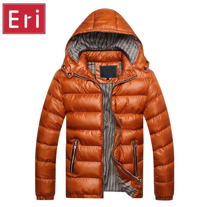 2017 Winter Jacket Men Coat Slim Sportswear Outwear Chaquetas Hombre Parka Mens Coats Jackets Warm Thick Asian Size M-3XL X301