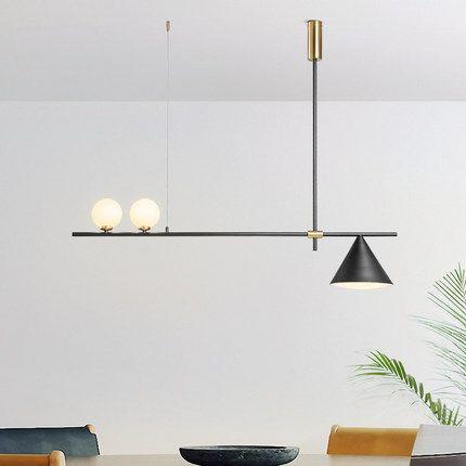 Moderne LED kronleuchter Nordic beleuchtung restaurant anhänger lampen esszimmer leuchten wohnzimmer neuheit hängenden lichter