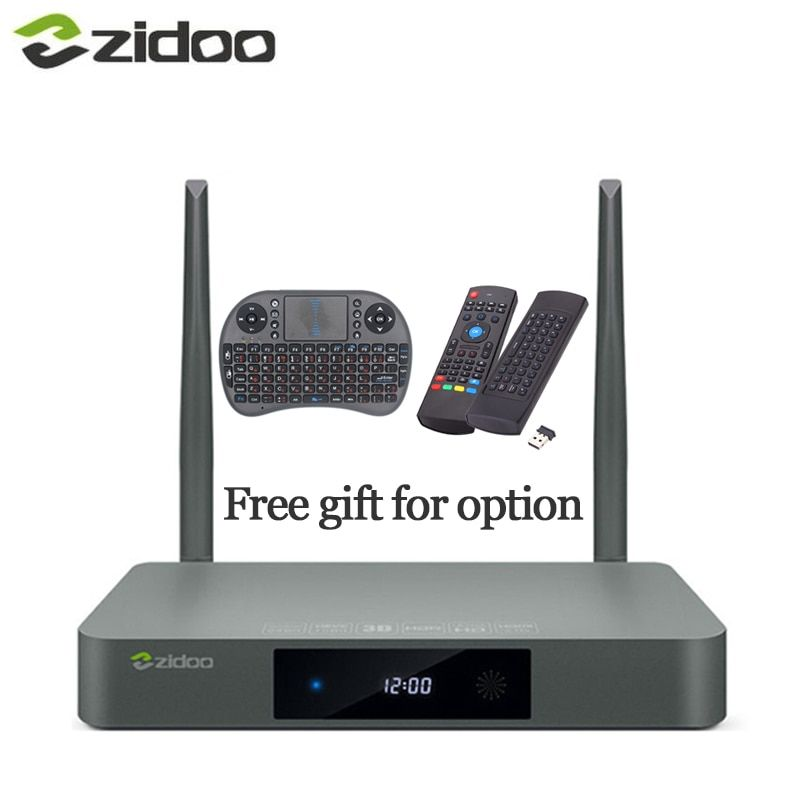Zidoo X9S Airmouse or Keyboard <font><b>HDMI</b></font> TV BOX Android 6.0 16G with US EU Russia Aisa IPTV Movie Pre-install kodi build addon