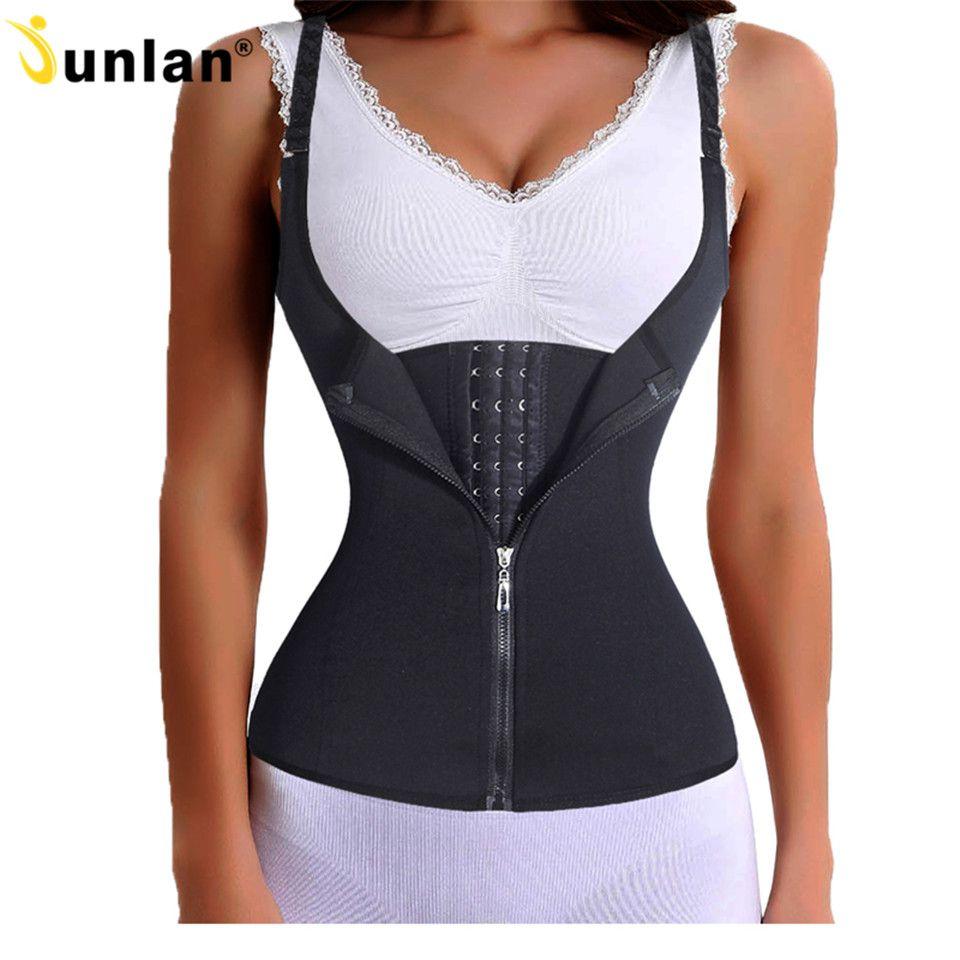Sangle en acier désossé taille formateur minceur ceinture sous-vêtements Cincher sous-buste Corsets tondeuse pour femmes modélisation ceinture