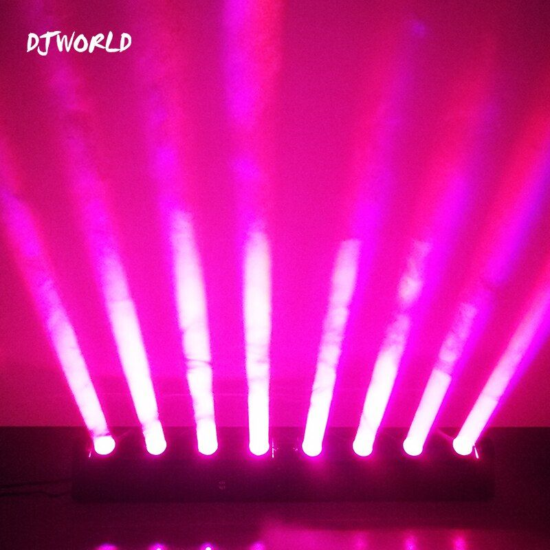 LED 8x12W RGBW Lyre Twins Beam Moving Head Light For Atmosphere Of Disco DJ Clubs DJ Theaters Churches Concert Productions