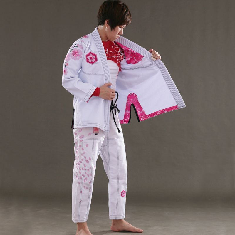 Sunrise New Release Ultra Light BJJ Gi Women's Jiu Jitsu Gi with Bamboo Fabric Girls BJJ Kimonos Custom Bl
