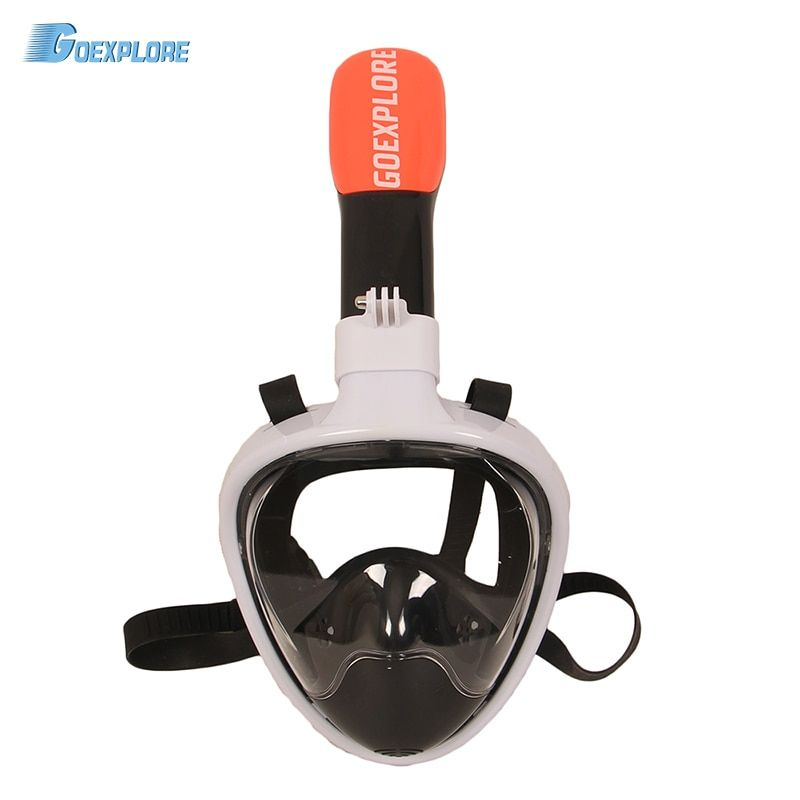 Goexplore Diving Mask Underwater Scuba Anti Fog Full Face Women Men Child Swimming Snorkel Mask Diving Equipment For GoPro