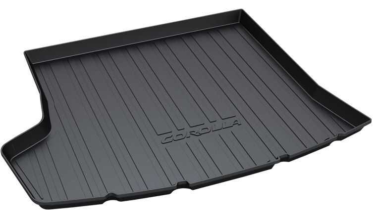 dedicated no odor carpets waterproof non slip durable rubber car trunk  mats for ToyotaCorolla