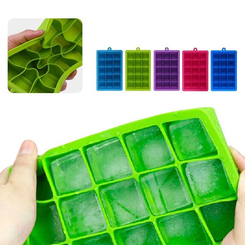 Silikon Form für Eisform Tablett Obst Popsicle Eismaschine für Wein Party Küche Bar Trinken Zubehör 5 Farben