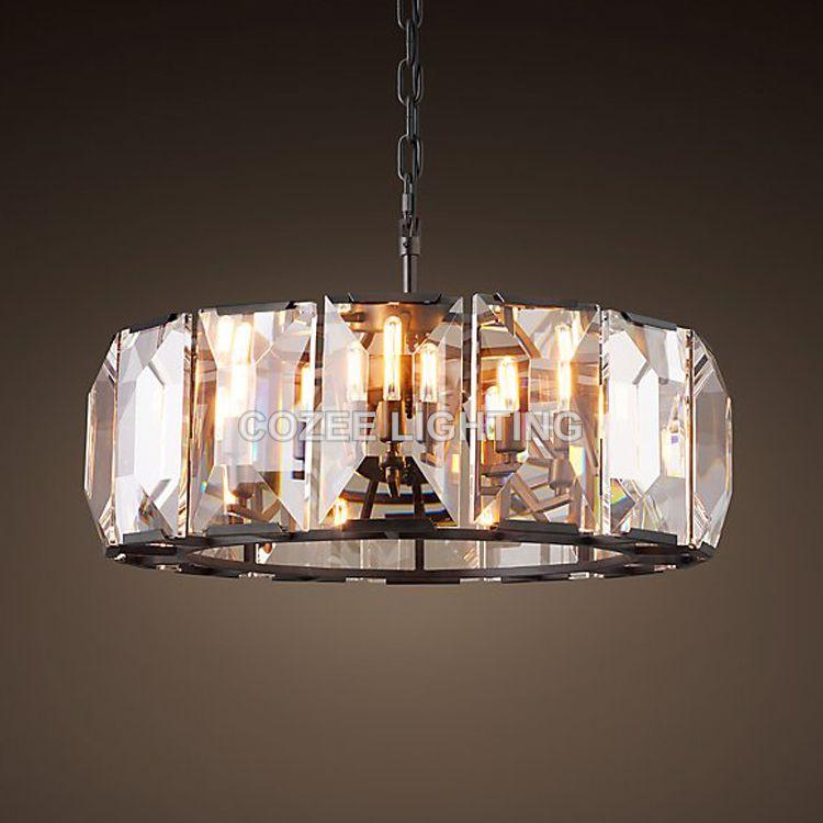 Modern Vintage Luxury Cristal Chandelier Lighting Crystal Chandeliers Hanging Light for Home Hotel Restaurant Decoration