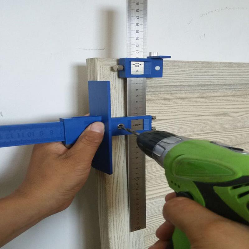 Detachable Hole Punch Jig Tool Drill Guide Sleeve Cabinet Hardware Wood Drilling Dowelling ALI88