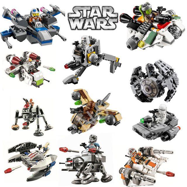 DC Super Heroes Brick Block StarWars Warships Spaceship Clone Wars StarWars troopers Ships Building Blocks toys