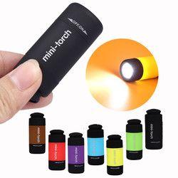 MUQGEW LED Mini-Torche LED lumière 0.3 W 25Lum mini-torche-led USB torche rechargeable Lampe de Poche Porte-clés #10