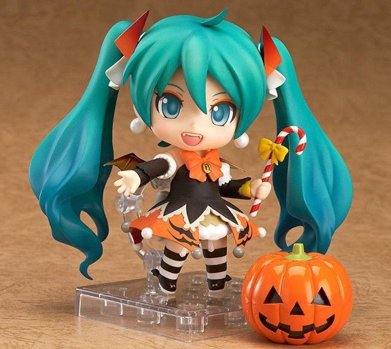 Livraison gratuite Nendoroid Hatsune Miku Halloween Ver. #448 PVC Figurine Modèle Collection Jouet 4