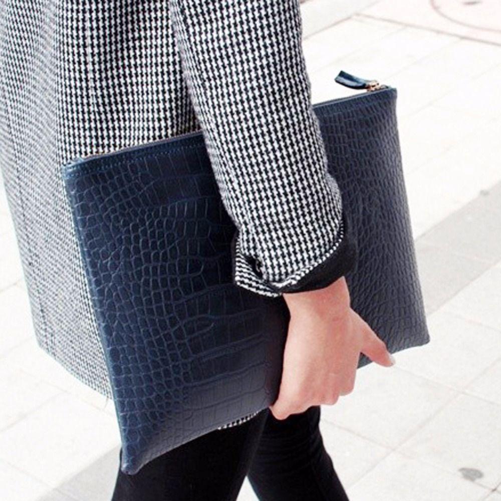 Luxus-handtaschenfrauen-designer Krokodil Leder Frauen Tasche Hülle Tasche Clutch Abend Partei Große Frauen Leder Handtaschen