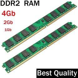 DDR2 4 GB 2 GB 1 GB DDR2 RAM 800 667 533 MHz/cocok untuk semua Intel dan AMD desktop/memoria 2 GB ddr2 ram tunggal/ddr 2 memori