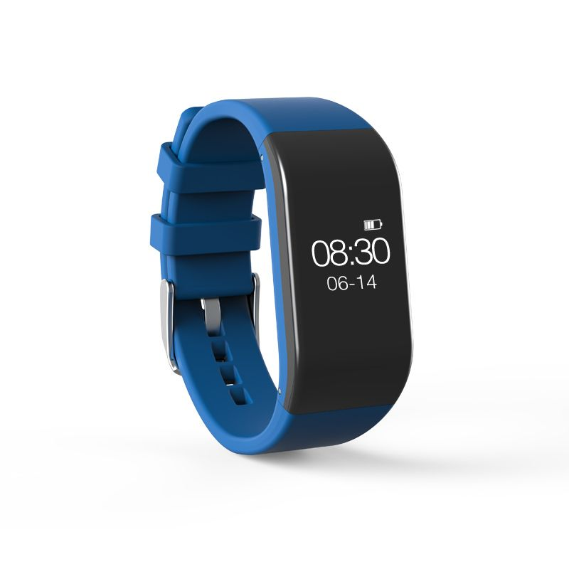 Turgoscope Waterproof Blood Pressure Monitor Heart Rate Sleep Monitor Fitness Sport Bracelet Smart App Wristband Smartband