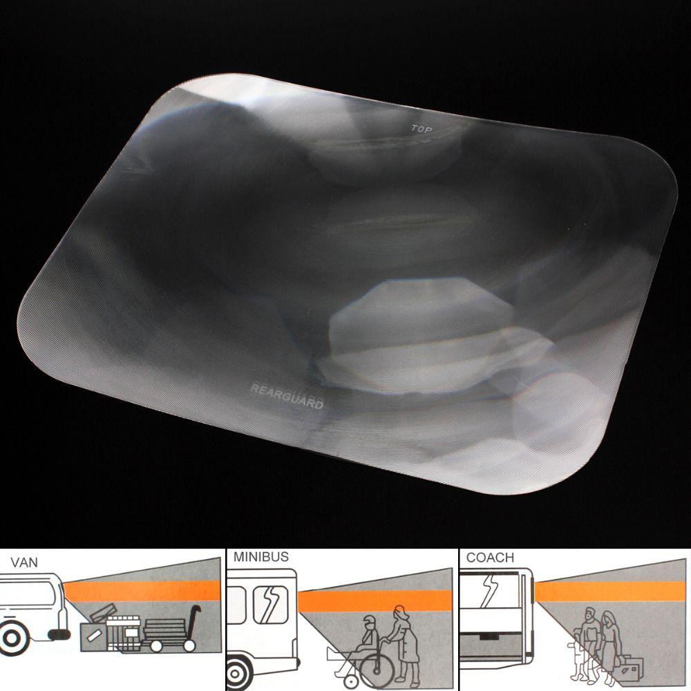 Широкий формат линза Френеля Авто Парковка Реверсивный Стикеры заднее стекло полезно увеличить угол обзора оптические линзы Френеля