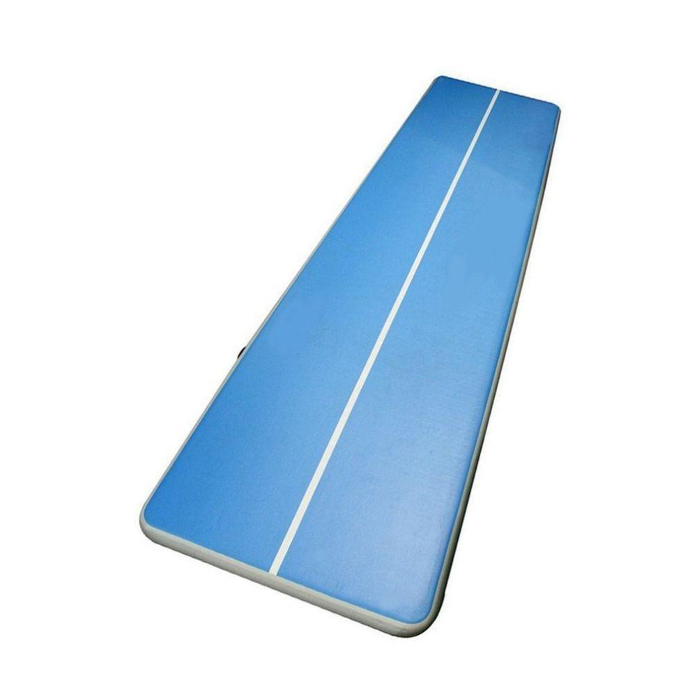 3/4/5/6/7/8 mt * 1/2 mt * 20 cm aufblasbare Taekwondo Kissen Ausbildung Luftmatratze Boden Taumeln Gymnastik Cheerleading Matte Trick Pad