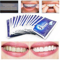 28 шт./14 пар 3D белый гель отбеливающие полоски для зубов Гигиена полости рта двойные эластичные полоски для зубов отбеливание зубов отбелива...