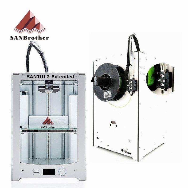 SANBrother 2 Extended + 3D Drucker 2018 Neueste DIY KIT Kompatibel Mit Ultimaker 2 Extended + Umfassen alle Teile Top qualität