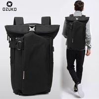 OZUKO marca 2018 nuevo estilo coreano mochilas para hombres moda ordenador portátil Mochila escolar Casual viaje impermeable Mochila