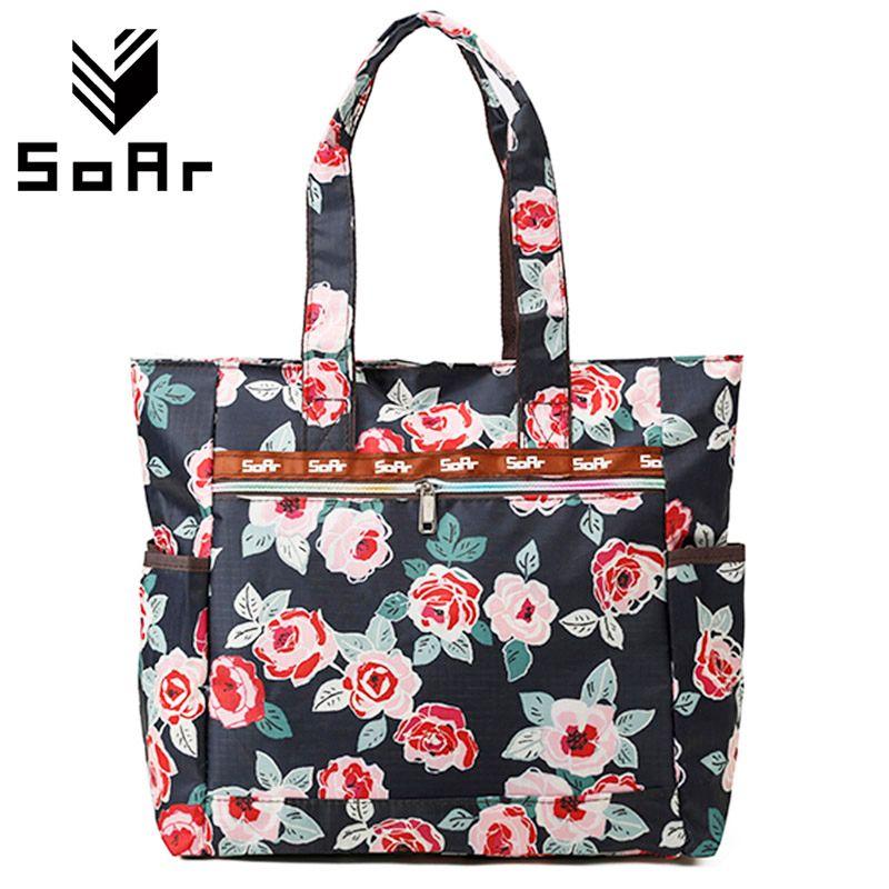 Sacs à main Designer haute qualité en Nylon dames sacs à bandoulière femmes sac fourre-tout impression femme grande capacité sacs à provisions grande taille