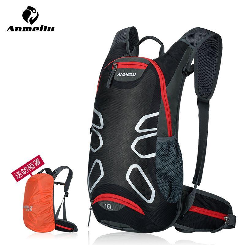 ANMEILU Brand Outdoor Bicycle Hiking Backpacks Waterproof MTB Road Mountain Bike Water Bags Climbing Cycling Backpack Rain Cover