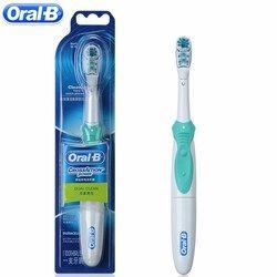 Oral B двойного Чистота Электрические зубные щётки Отбеливание зубов Зуб Кисточки-Перезаряжаемые Батарея питание или зубы Кисточки головы