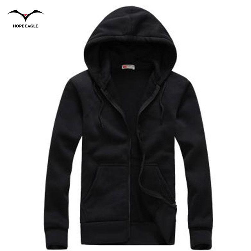 Nouveau 2019 hommes à capuche Homme printemps et automne période pulls à capuche pour hommes vêtements d'extérieur décontracté manteau marque zipper Hoodies et Sweatshirts XXL