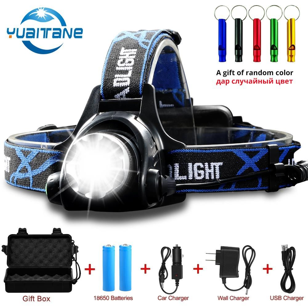 15000LM LED Headlamp 3modes T6/L2/V6 Zoomable Led Head lamp Flashlight Torch Headlight with Waterproof light for outdoor,fishing