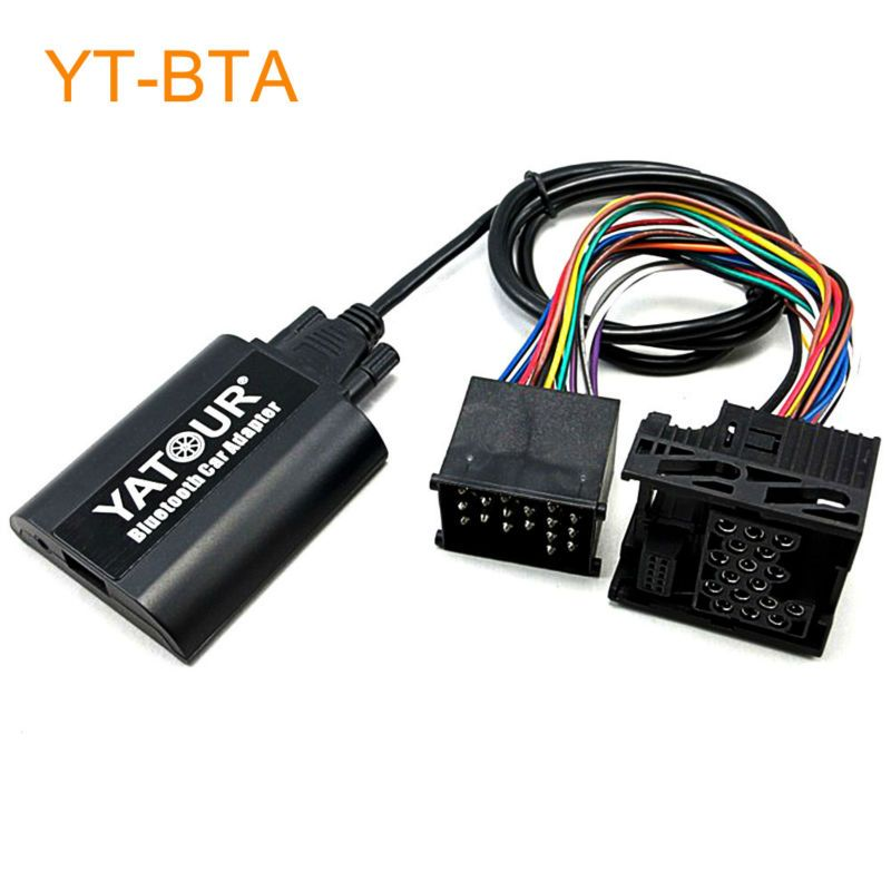 Yatour bta auto bluetooth adapter kit für fabrik kopf unit radio für bmw E36 E46 E39 E38 X3 X5 Z3 Z8 K1200LT und für MINI R5x