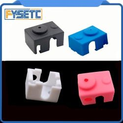 New V6 Silicone Sock 3D printer Support V6 PT100 Original J-head 1.75/3.0mm Heated Block Extruder Prusa i3 MK3
