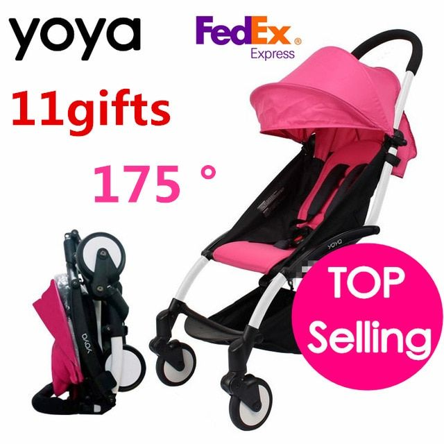 Yoya Baby Stroller 175 Degree Can Sit Can Lie Folding baby Stroller Car Pram Baby Carriage Infant Trolley Babyzen Yoyo Stroller