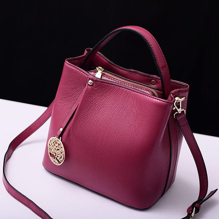 Новый организатор теплые женские сумки натуральная кожа сумка-мешок женская Повседневная плеча сумки известных марок