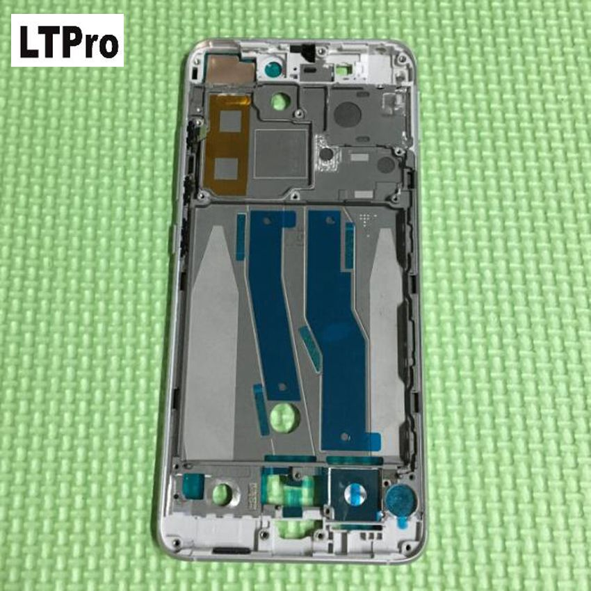 LTPro High Quality Silver Front Bezel / Middle Frame Chassis Housing Cover For Xiaomi mi5 m5 mi 5 Mobile Phone Replacement