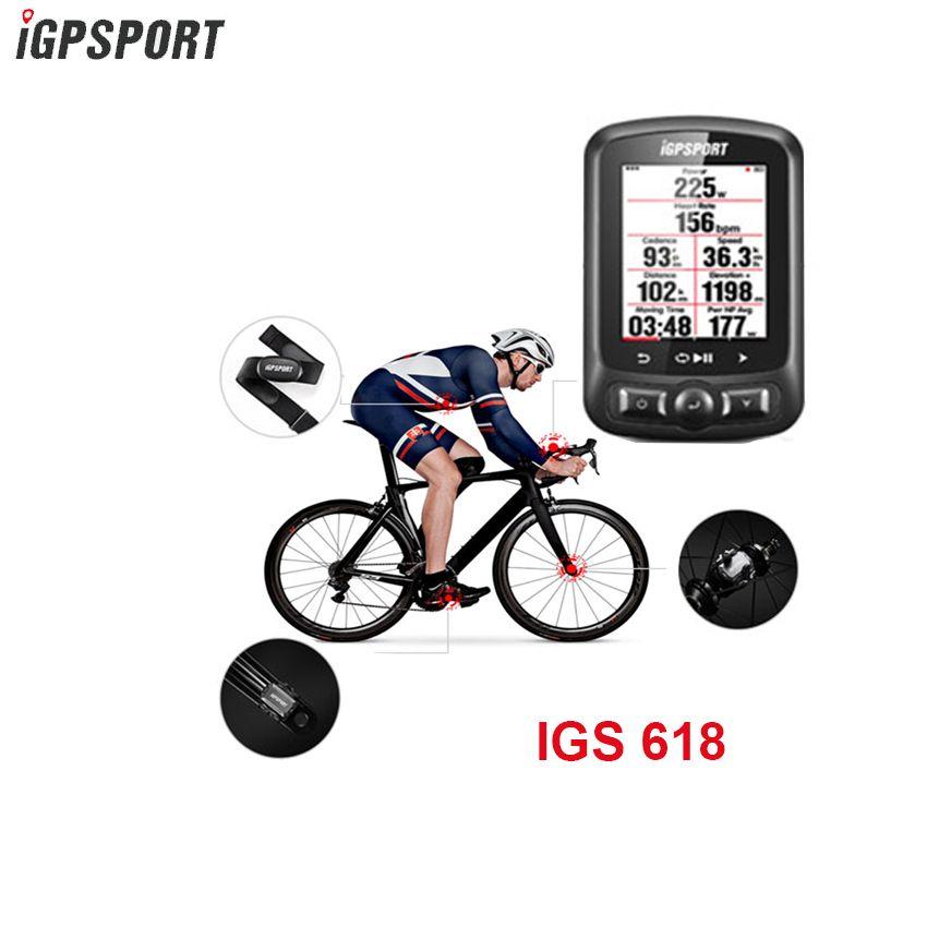 Igpsport 7 Gruppe IGS618 ANT + Bluetooth Fahrrad Computer Gps Bicicleta Drahtlose Bisiklet Aksesuar Radfahren Tachometer Bike Sensor
