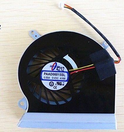 SSEA tout nouveau ventilateur de refroidissement CPU pour MSI GE60 16GA 16GC série E33-0800401-mc2 PAAD06015SL A166