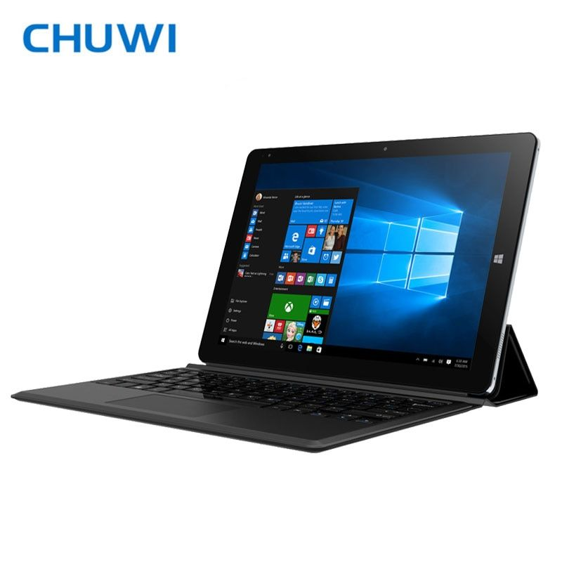 CHUWI Hi10 Plus Tablet PC Windows10 & Android5.1 Dual OS Intel Cherry Trail Z8350 Quad Core 4GB RAM 64GB ROM 2 in 1 Tablets HDMI