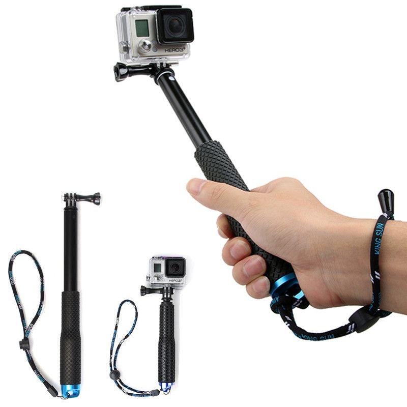 36 inch Extendable Self Selfie Stick For SP POV Pole Handheld Monopod Dive Since for Gopro Hero 6 5 4 3+ 3 2 sj4000 Sport Camera