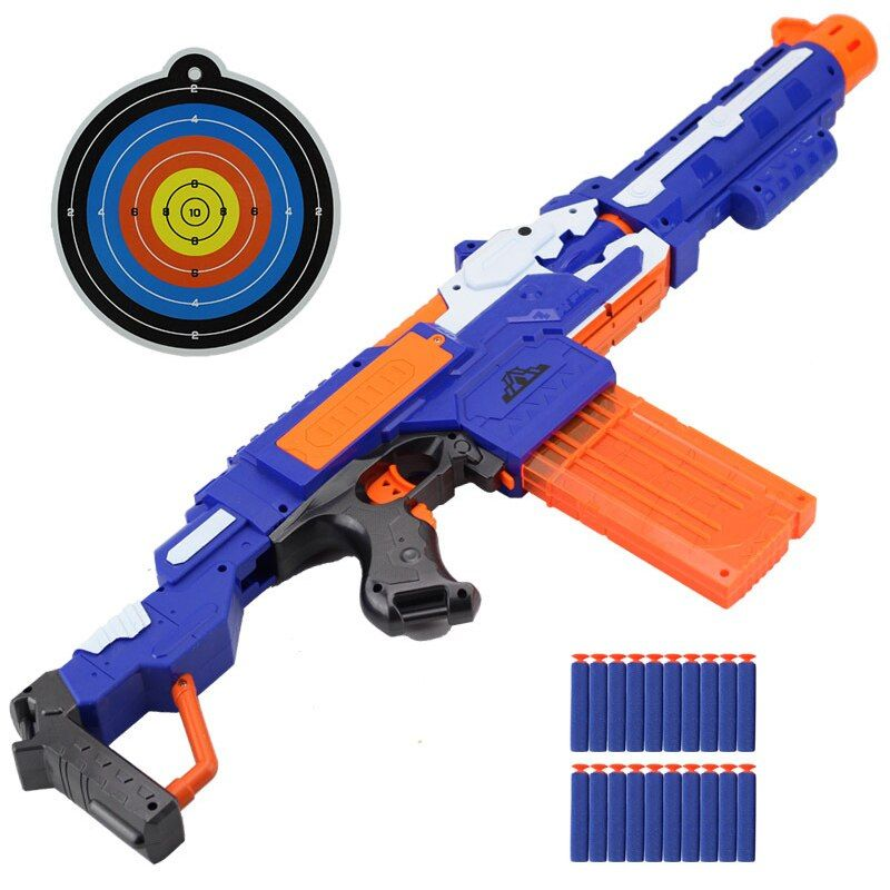 Electric Soft Bullets Toy Gun Suit for Nerf Toy Dart Suit For Nerf Gun Toys For Children Boys Gift Plastic Shooting Guns orbeez