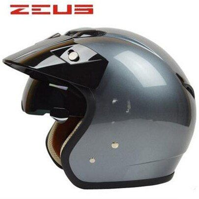 Top Quality Jet Style <font><b>Motorcycle</b></font> Helmet Touring helmet DOT approved bike helmet ZERUS made in Taiwan