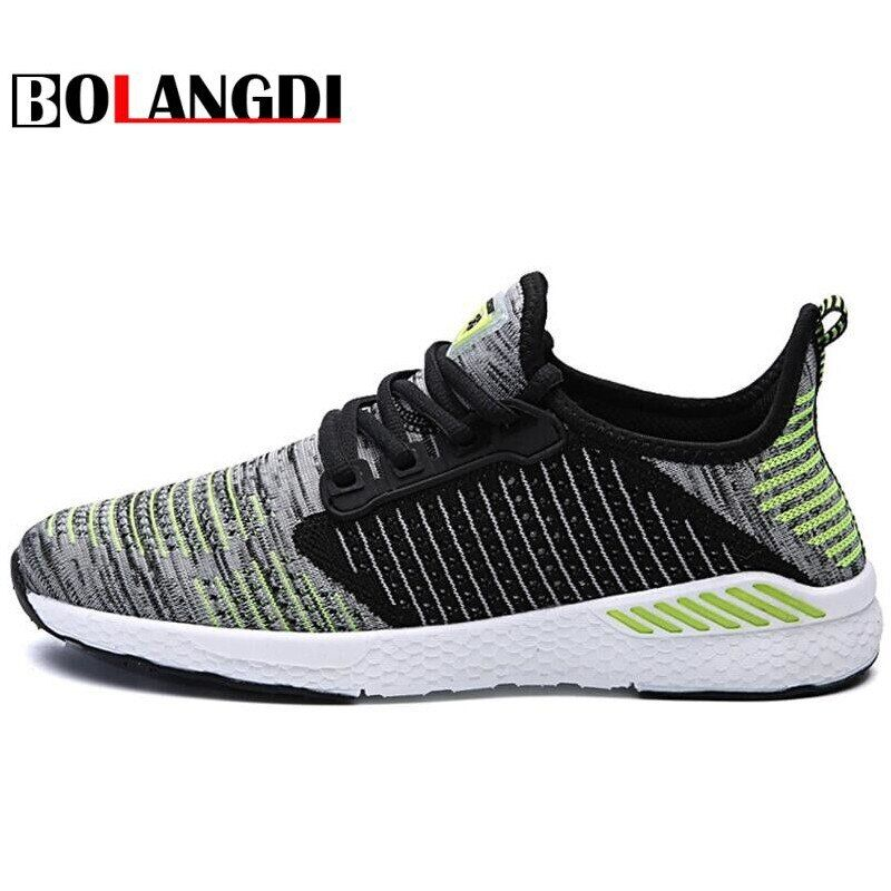 Bolangdi New Running Shoes for Men Women Outdoor Breathable Male Mesh Light Shoes Jogging Sneakers Athletics Lovers Sport Shoes