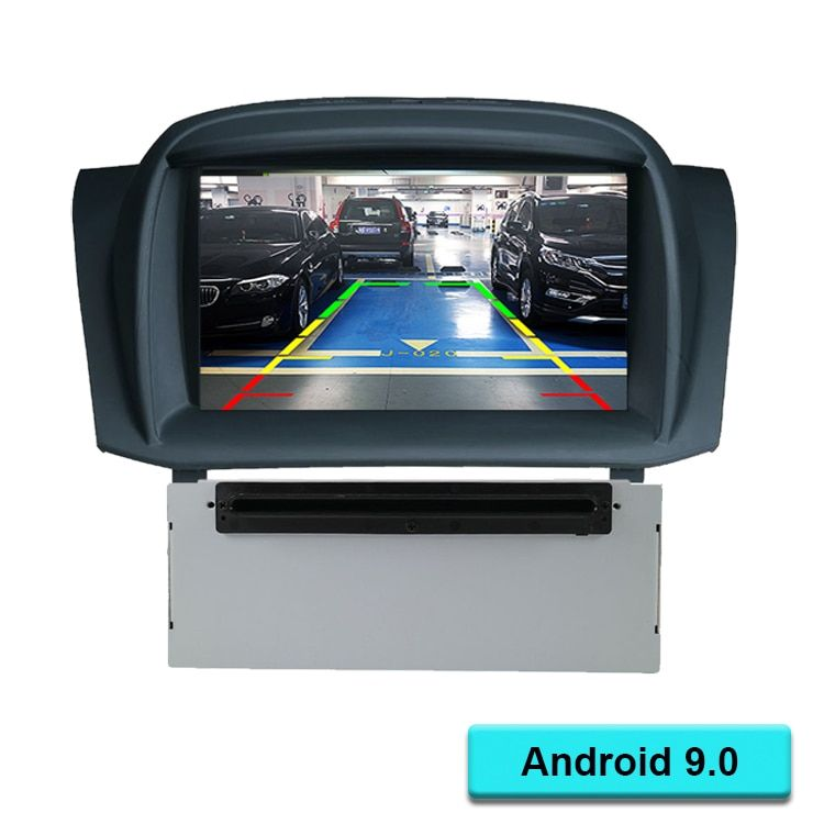 Quad Core Android 9.0 Car DVD player GPS Navigation In-dash Stereo Radio for Ford Fiesta 2008 2009 2010 2012 2013 2014 2015 2016